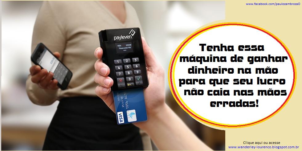 PayLeven - Máquina de Cartão de Crédito pelo Celular