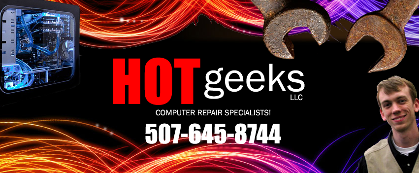 Computer Repair in Northfield MN from HOT geeks LLC!