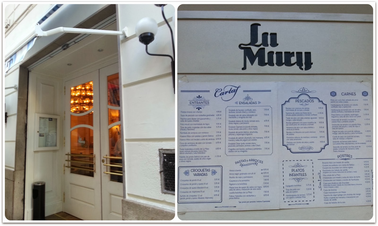 Restaurante La Mary - Valencia