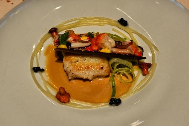 Restaurant St. Nicolas cod leek lobster