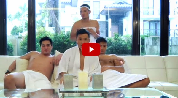 OMG! So gay! Edgar Allan Guzman and Wendell Ramos kiss on Ogie Alcasid's Paminta music video