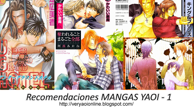 Recomendaciones Mangas Yaoi – Pervertid@s anonimos ()