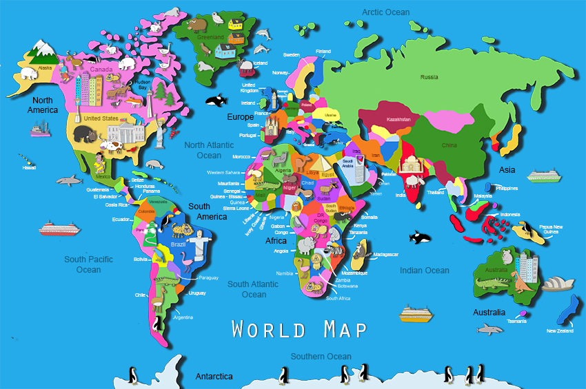 map my world