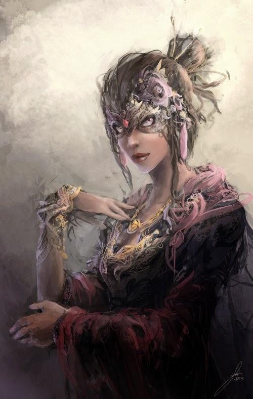Jason Nguyen deviantart ilustrações pinturas digitais fantasia mitologia anjos deuses