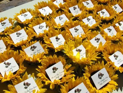 Anointed Creations Wedding And Event Planning Sunflower Themed Weddings