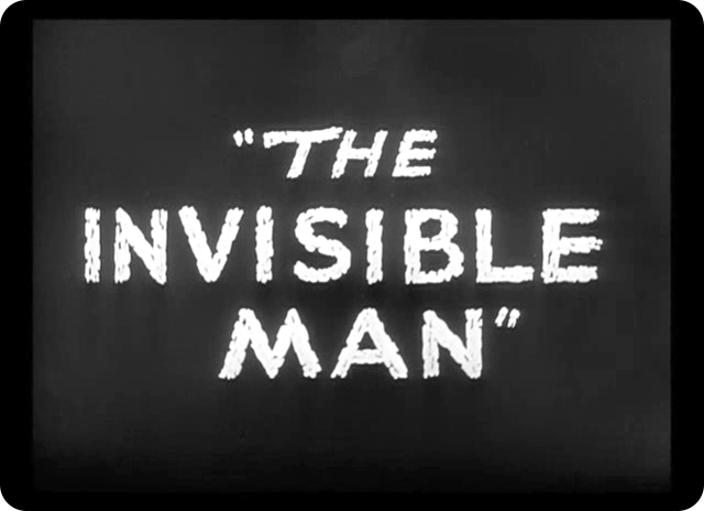 a review of the story of invisible man From his late high school days through three years of college to 15-4-2015 the invisible a review of the story of invisible man man (1933) review a a.