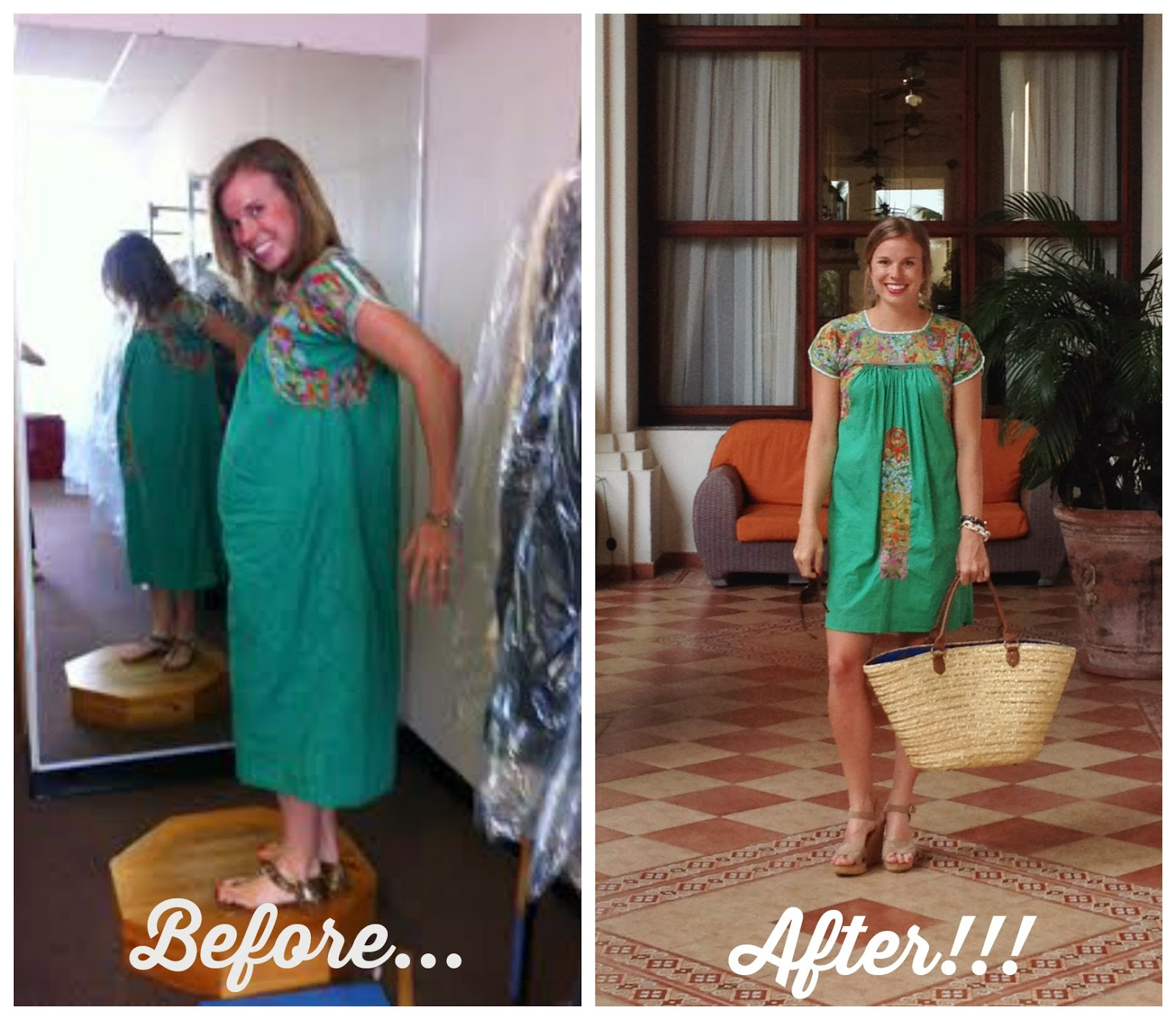 Wonderfully Made: My Updated Mexican Party Dress