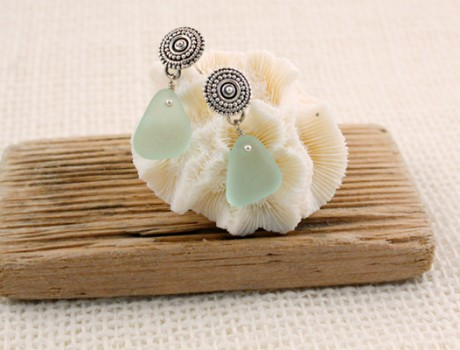 Beach Glass Sea Glass Jewelry by Jane