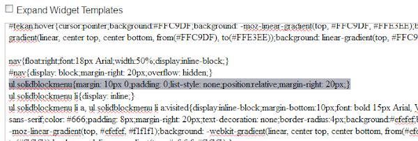 Photo of Contoh ul.solidblockmenu Kode CSS