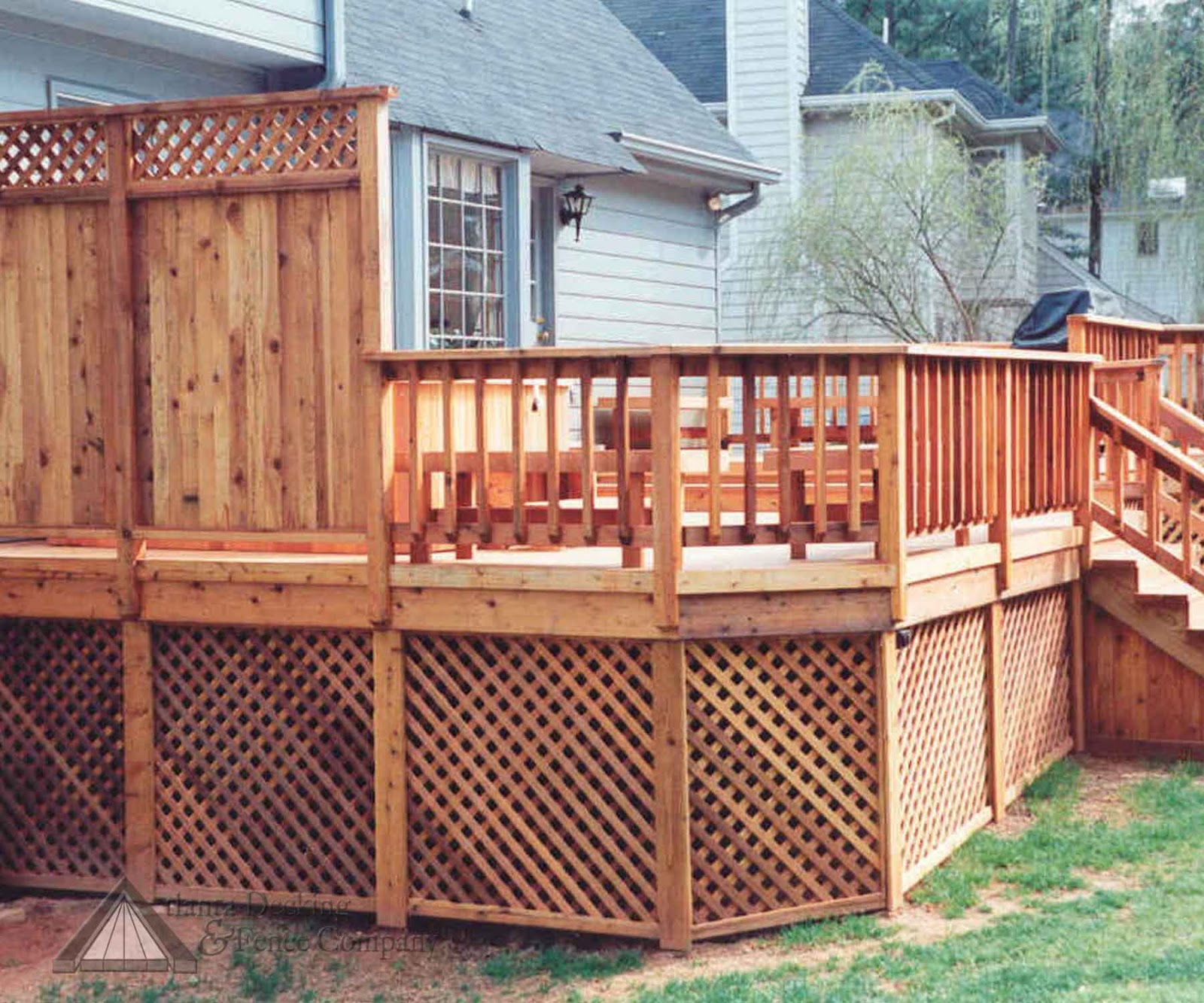 Amazing For Inspiration, I Found This Photo Of A Deck Railing/ Screen Combo That We  Liked And Started Brainstorming About How To Built It.