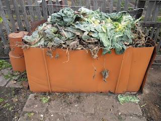 ящик для сбора отходов