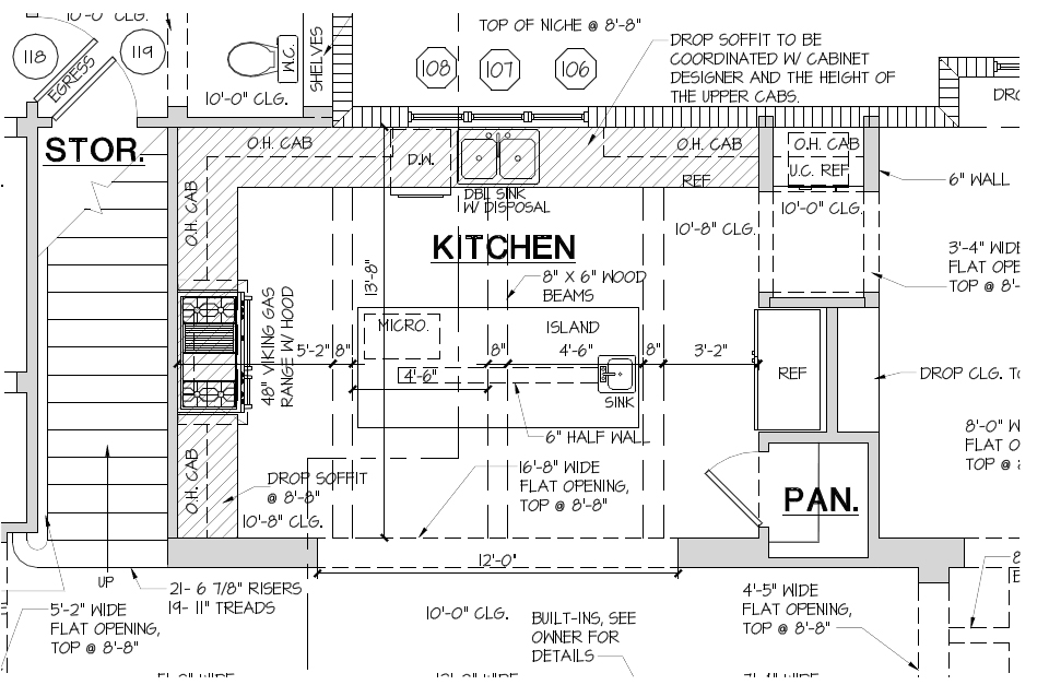 2 bedroom guest house plans bedroom furniture high for Kitchen floor plans