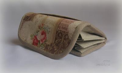 кошелек из ткани