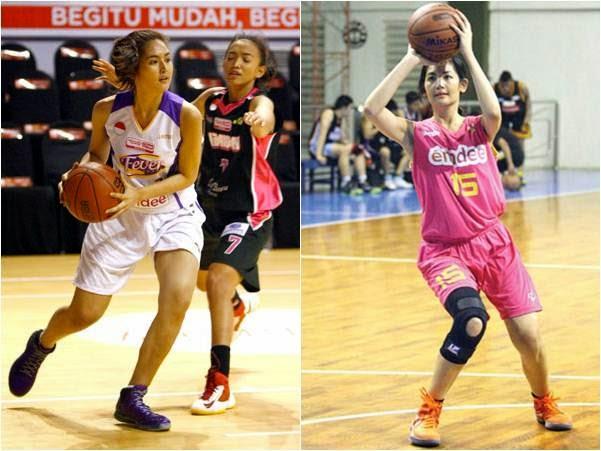EGA DEVA: Maria Selena : Beauty Side of Indonesian Basketball