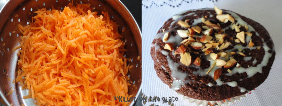 how to make eggless carrot cake