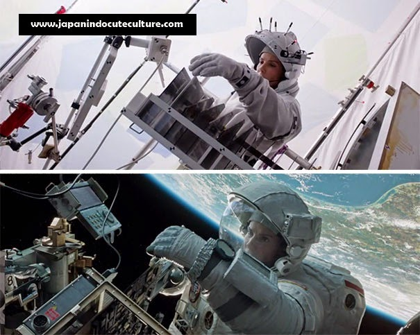 Efek Menakjubkan Di Balik Layar Film Hollywood Gravity