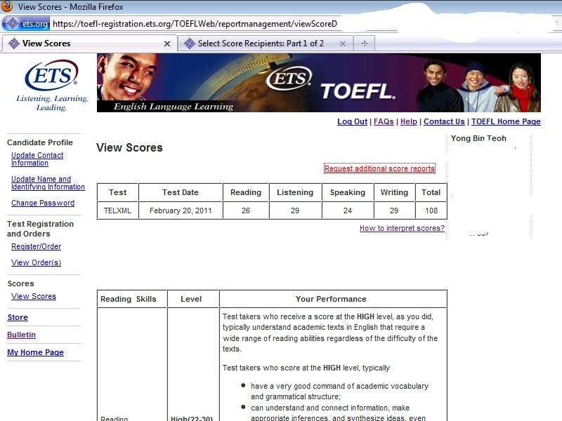 Good Luck TOEFL - Free Sample TOEFL Essays
