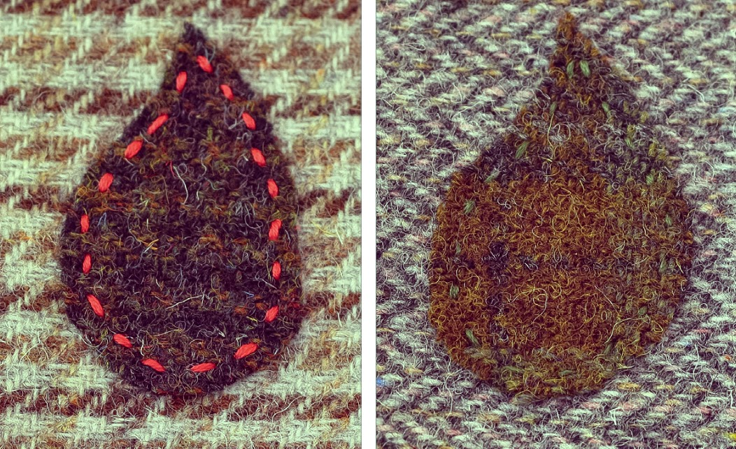 transfering an image to applique