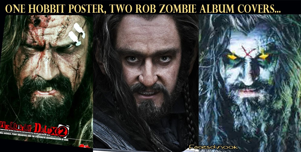 Faceschnook The Hobbit Poster Looks Like Rob Zombie Album