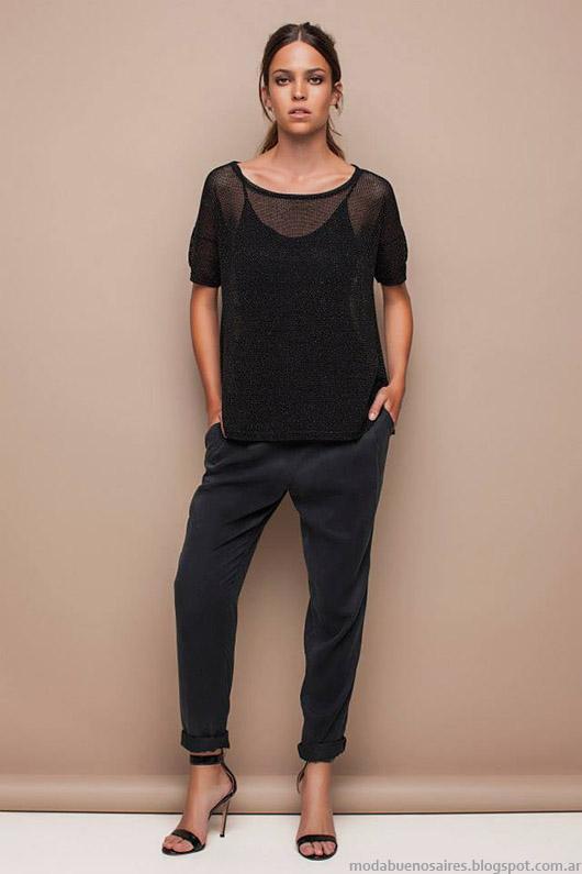 Moda verano 2015 Awada colección ropa de mujer.