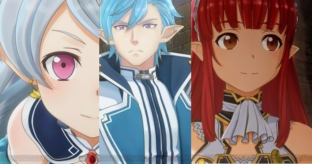 [ Info-Anime ] Game Sword Art Online Lost Song Pekenalkan 3 Karakter Baru
