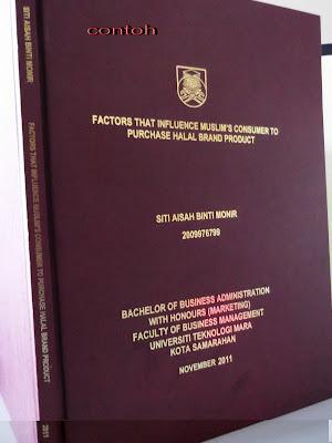 thesis bindery