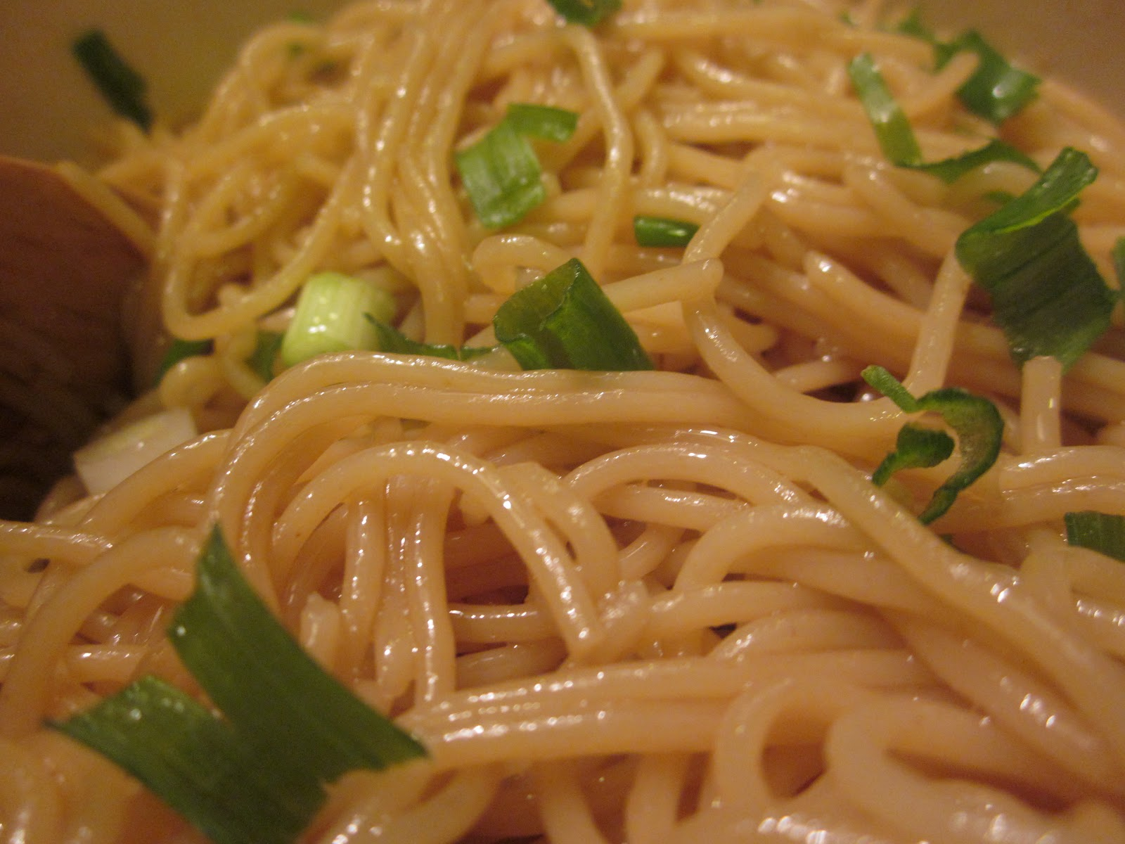 lovely clear and sweet.: Sesame Noodles