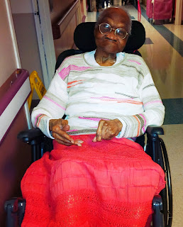 Melanie E. Beasley's Grandmother at 99