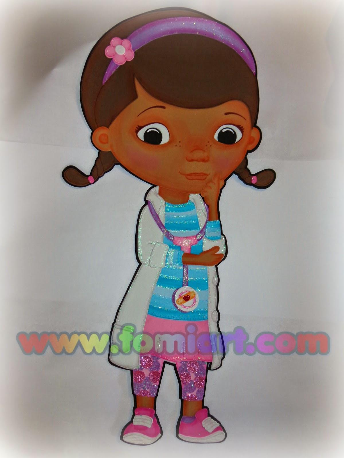 Doctora juguetes en foamy