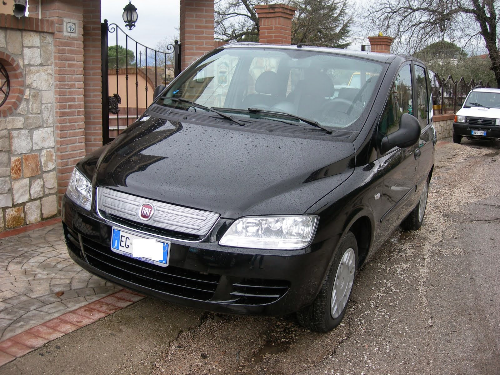 Fiat Multipla Natural Power 1.6 Metano Anno 2011 dinamyc