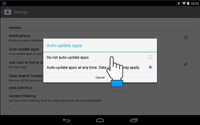 Mematikan update otomatis setiap aplikasi di android