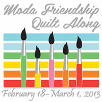 Moda Cutting Table Friendship Quilt Along