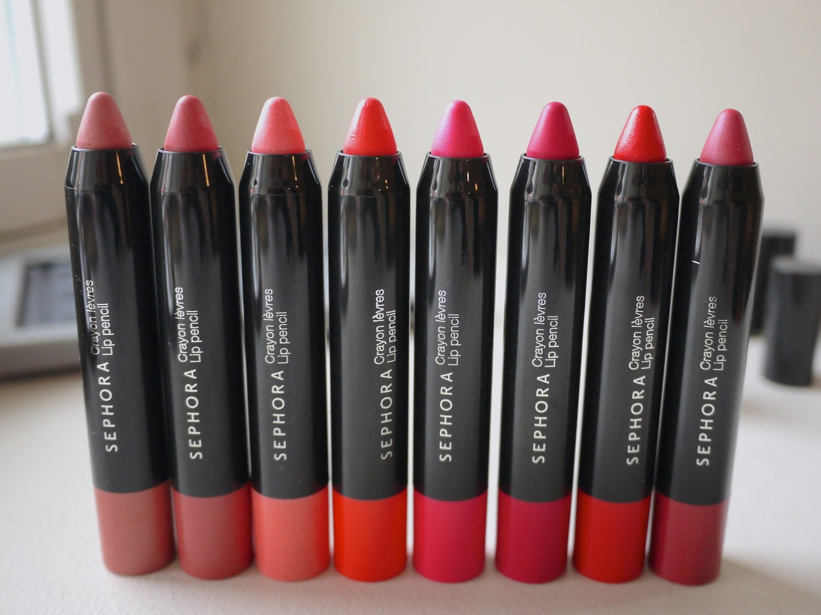 Sephora Endless Kisses: Lip Pencil Set review and swatches
