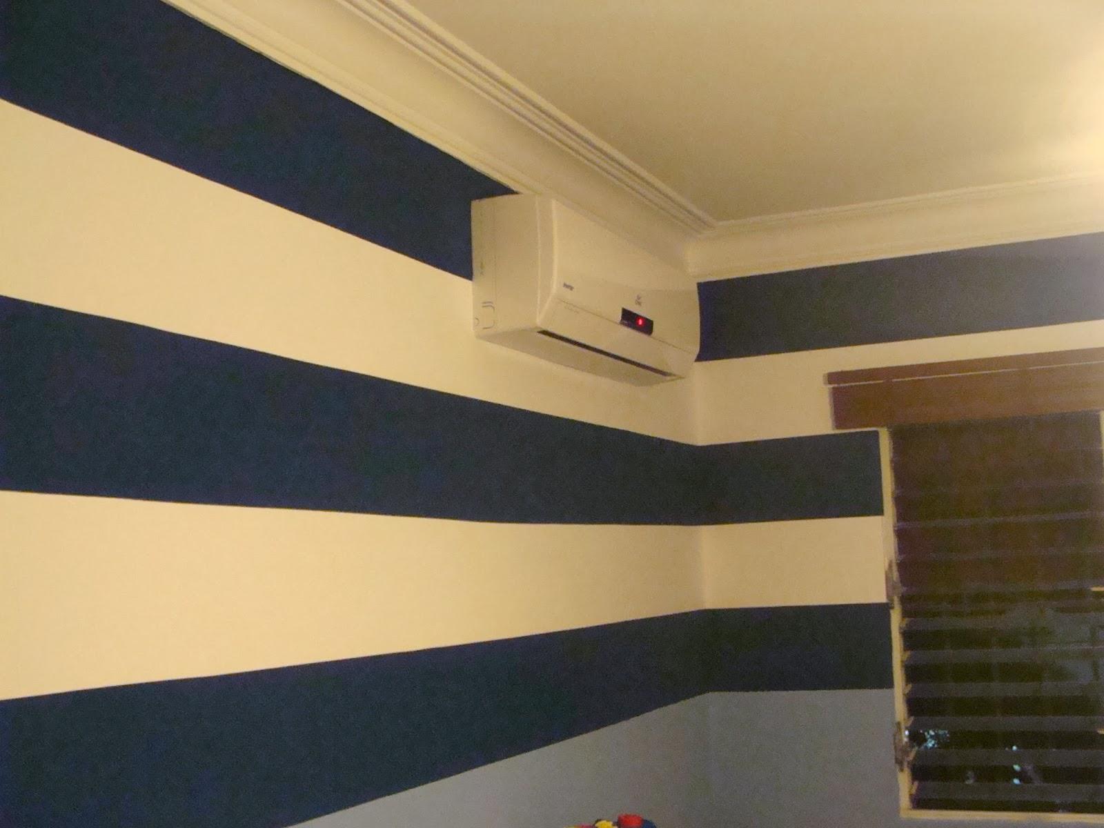 Murales creativos heidy guerrero para los amantes de las - Pintar paredes a rayas horizontales ...