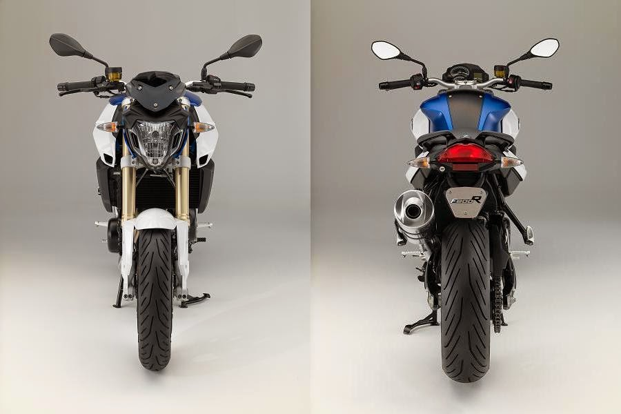 BMW F 800 R (2015) Front and Rear