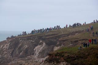 Big wave surfing Cornwall UK