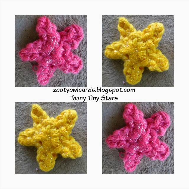 Zooty Owl\'s Crafty Blog: Teeny Tiny Star