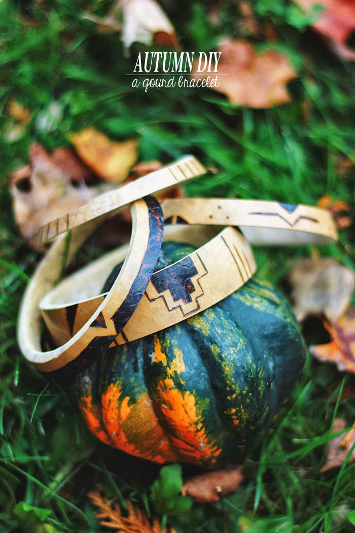 Best of | Autumn DIY | A Gourd Bracelet