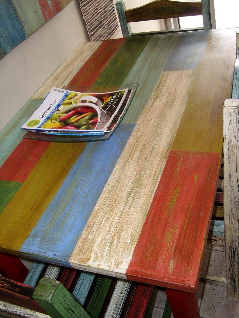 Muebles Pintados De Colores Imagen Pintura Tiza Uclos Muebles  # Muebles Efecto Desgastado