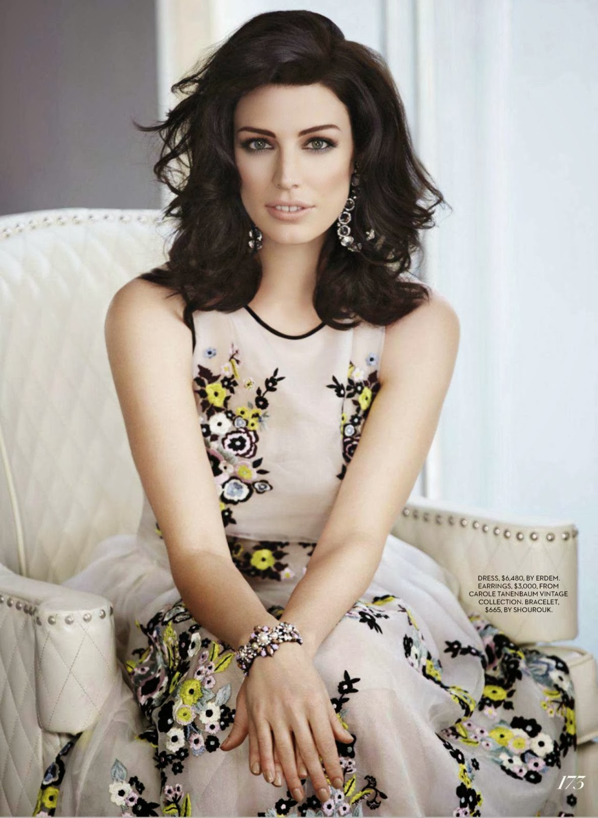 Jessica Paré HQ Pictures Fashion Canada Magazine Photoshoot March 2014