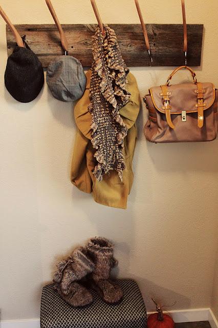 Coat Rack Made From Hangers