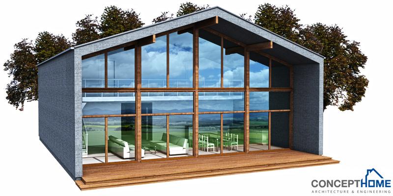 Contemporary house plans for Modern house design narrow lot