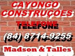 CAYONGO CONSTRUÇÕES