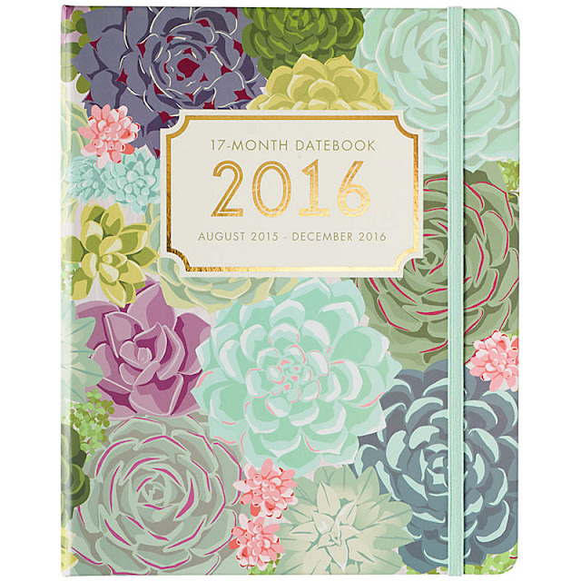Succulents Gold Foil Planner - The Happiness Planner - Prettiest Planners 2016 | #getorganized #schedule #planner #organizer