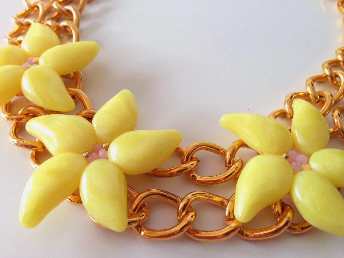 Collar Flores Tropicales NM Designs