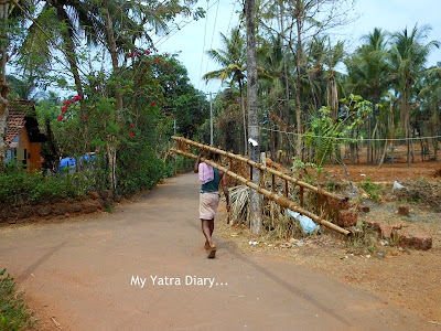 Daily life in the village of Kannur, Kerala