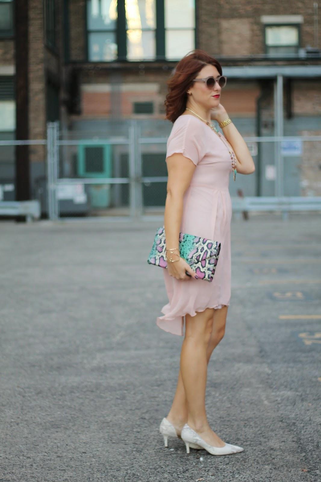 pink, zara, dress