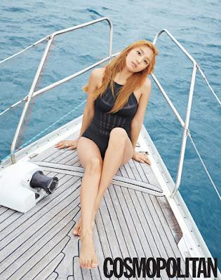 Bora SISTAR - Cosmopolitan Magazine June Issue 2015
