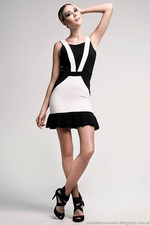 Moda invierno 2015 - 2016 vestidos Verónica Far.