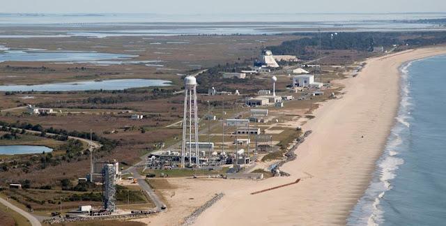 Mid-Atlantic Regional Spaceport in Virginia. Credit: NASA